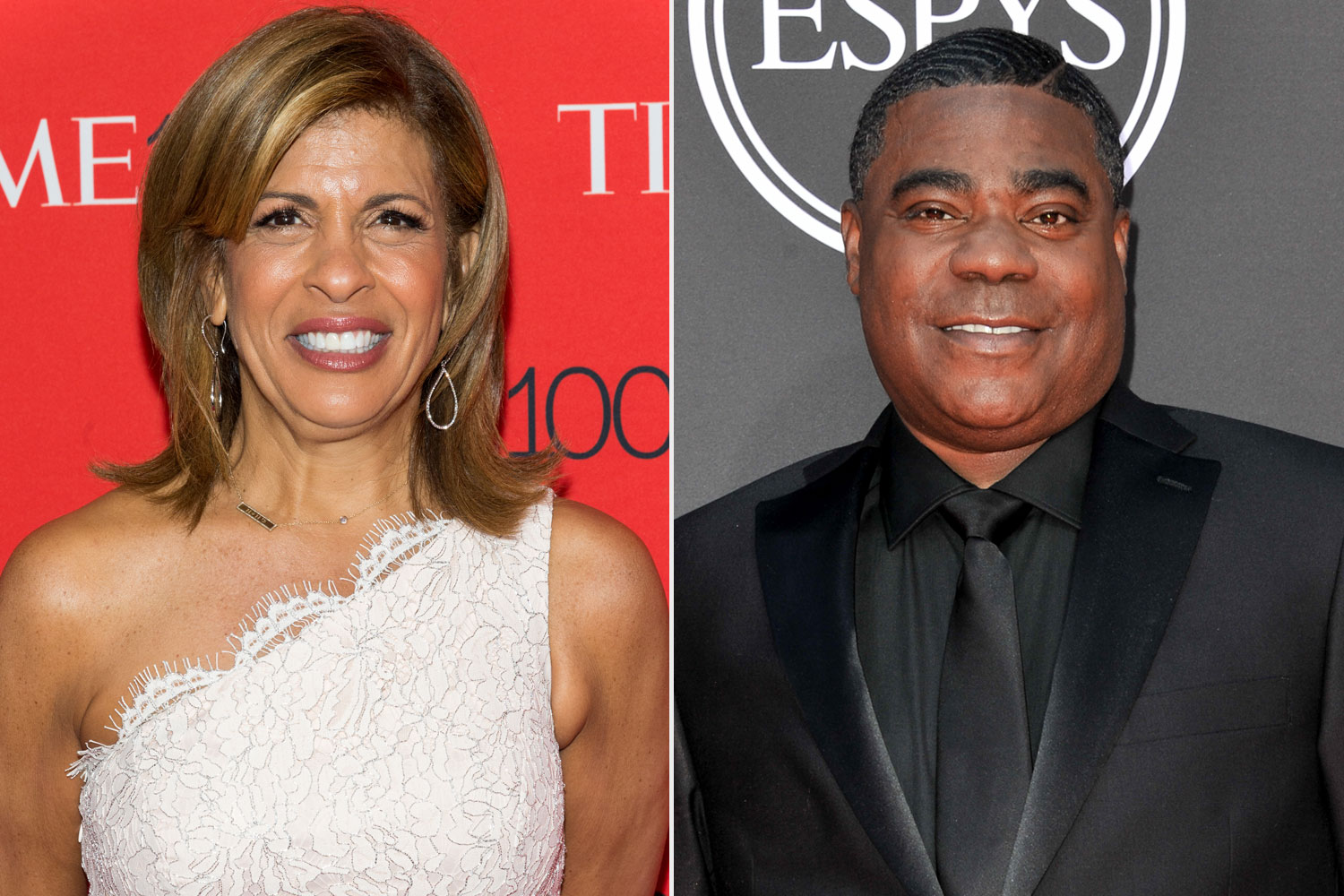 Hoda Kotb, Tracy Morgan