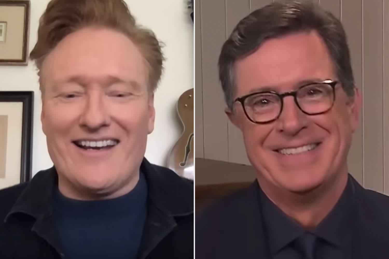 Conan O'Brien, Stephen Colbert
