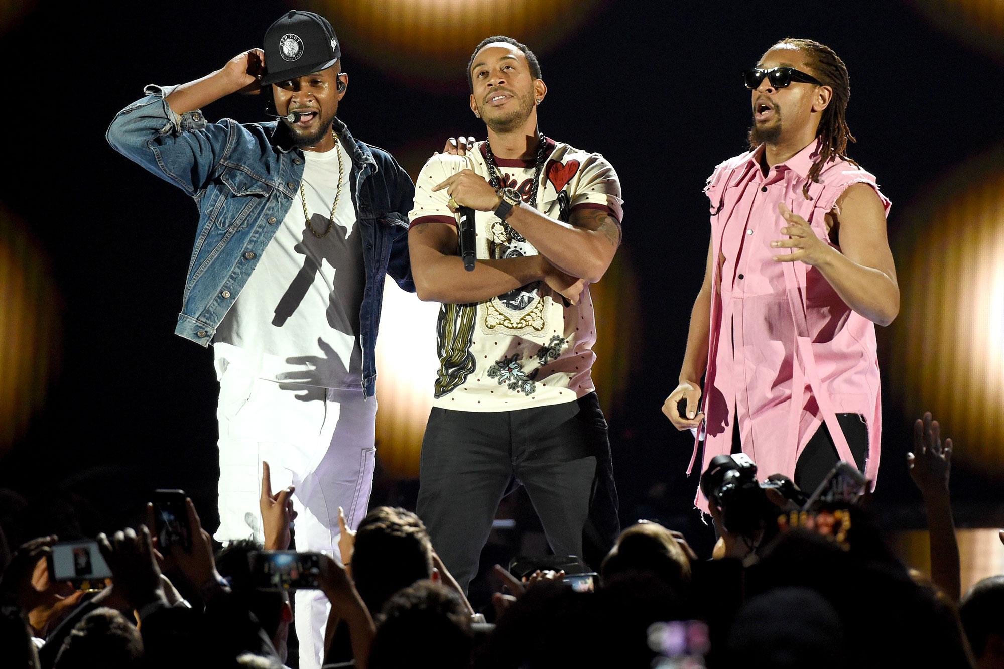 Usher, Ludacris, Lil Jon