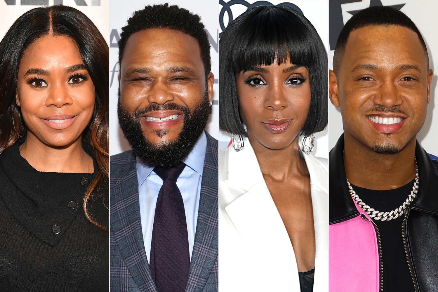 Regina Hall; Anthony Anderson; Kelly Rowland; Terrence J