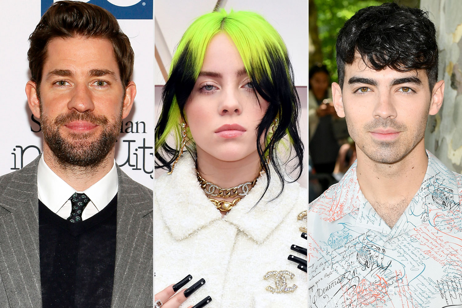 John Krasinski, Billie Eillish, Joe Jonas
