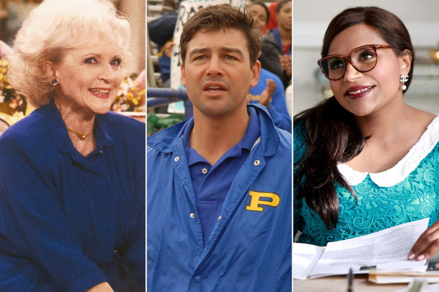 Golden Girls, Friday Night Lights, The Mindy Project