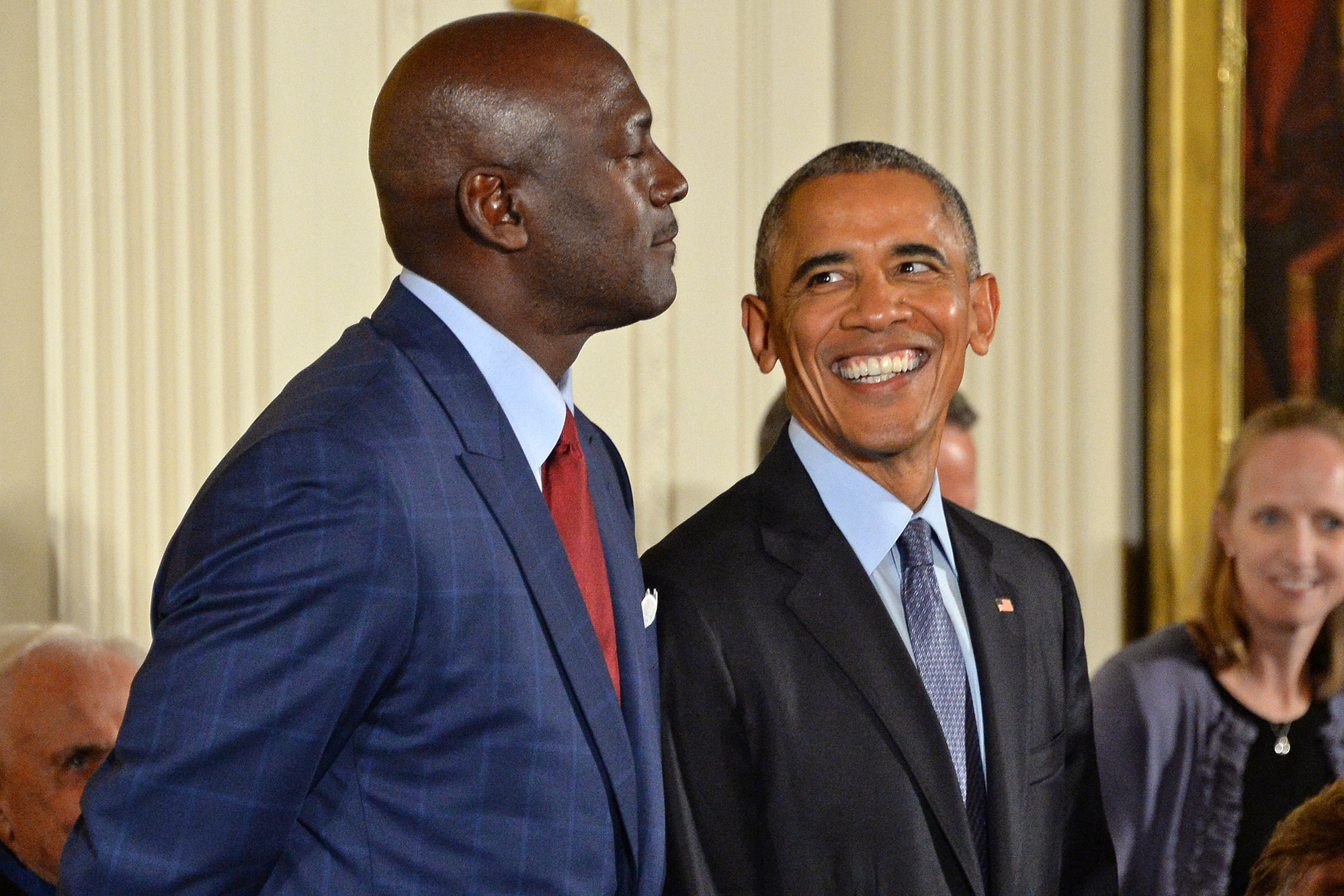 Michael Jordan; Barack Obama