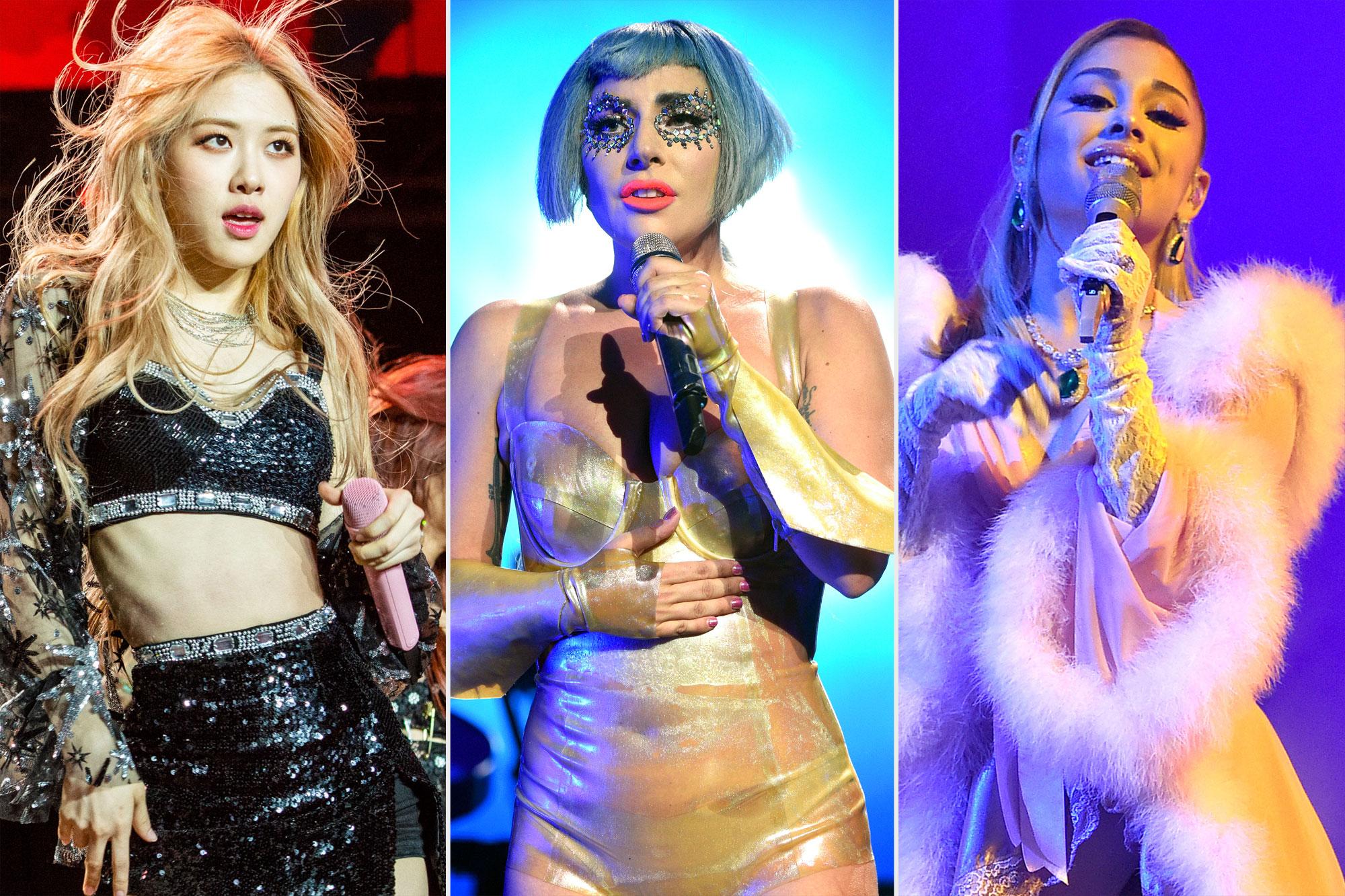 Blackpink/Lady Gaga/Ariana Grande