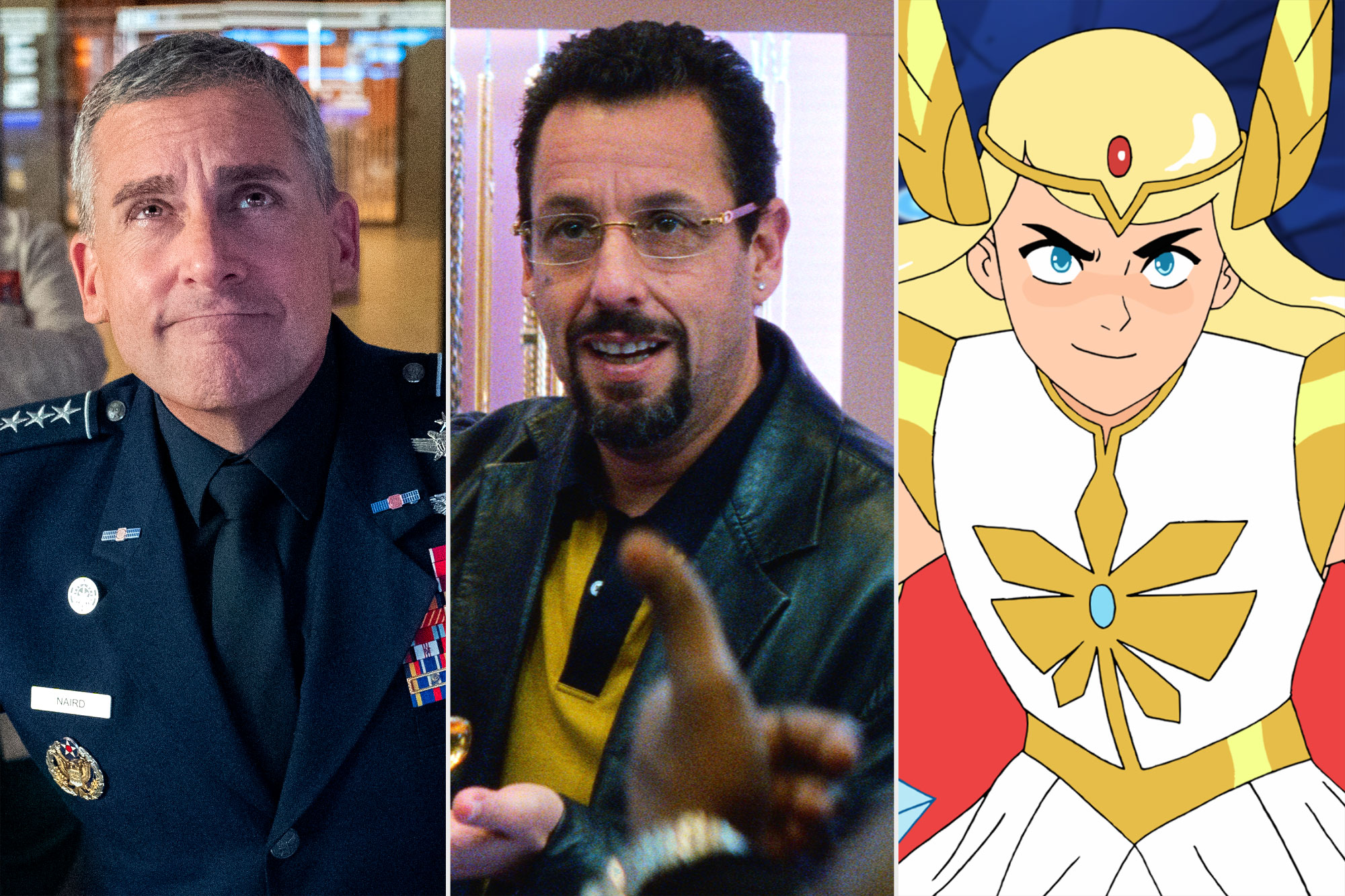 Coming to Netflix- Space Force; Uncut Gems; She-Ra