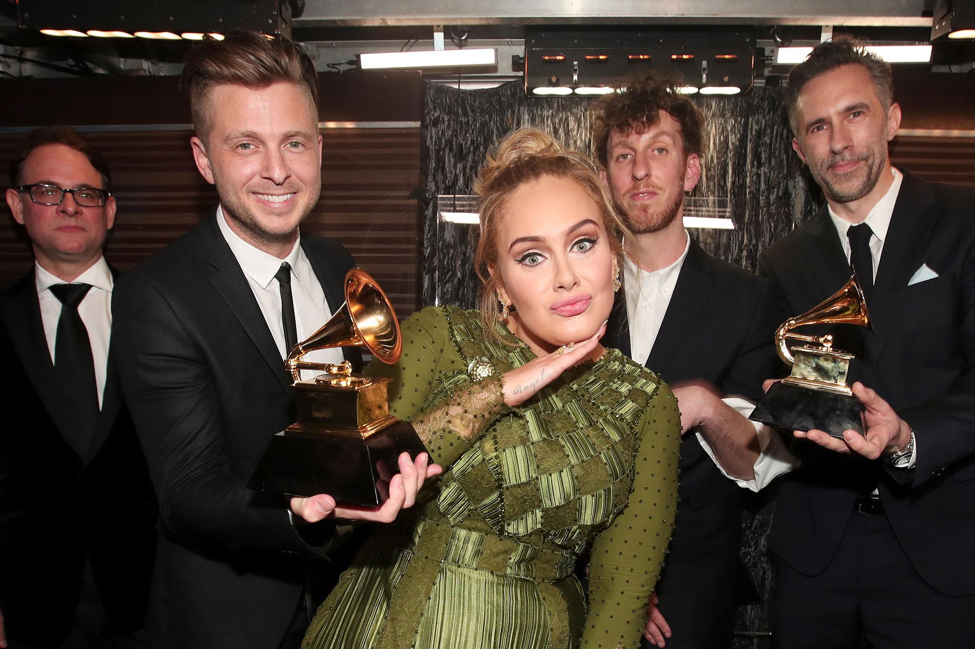 Ryan Tedder, Adele