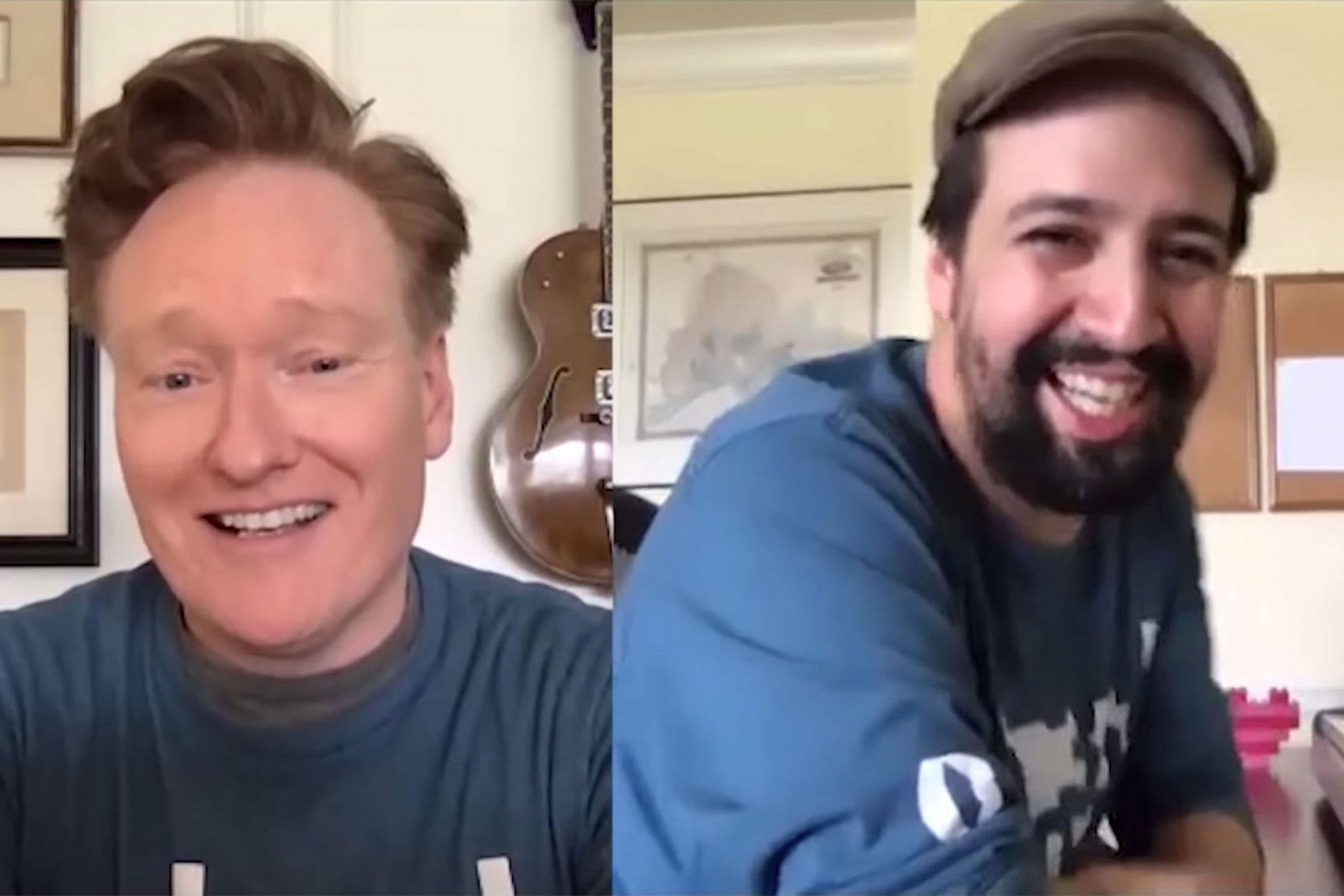 Lin-Manuel Miranda Writes A Song On The Spot For Conan - CONAN on TBS