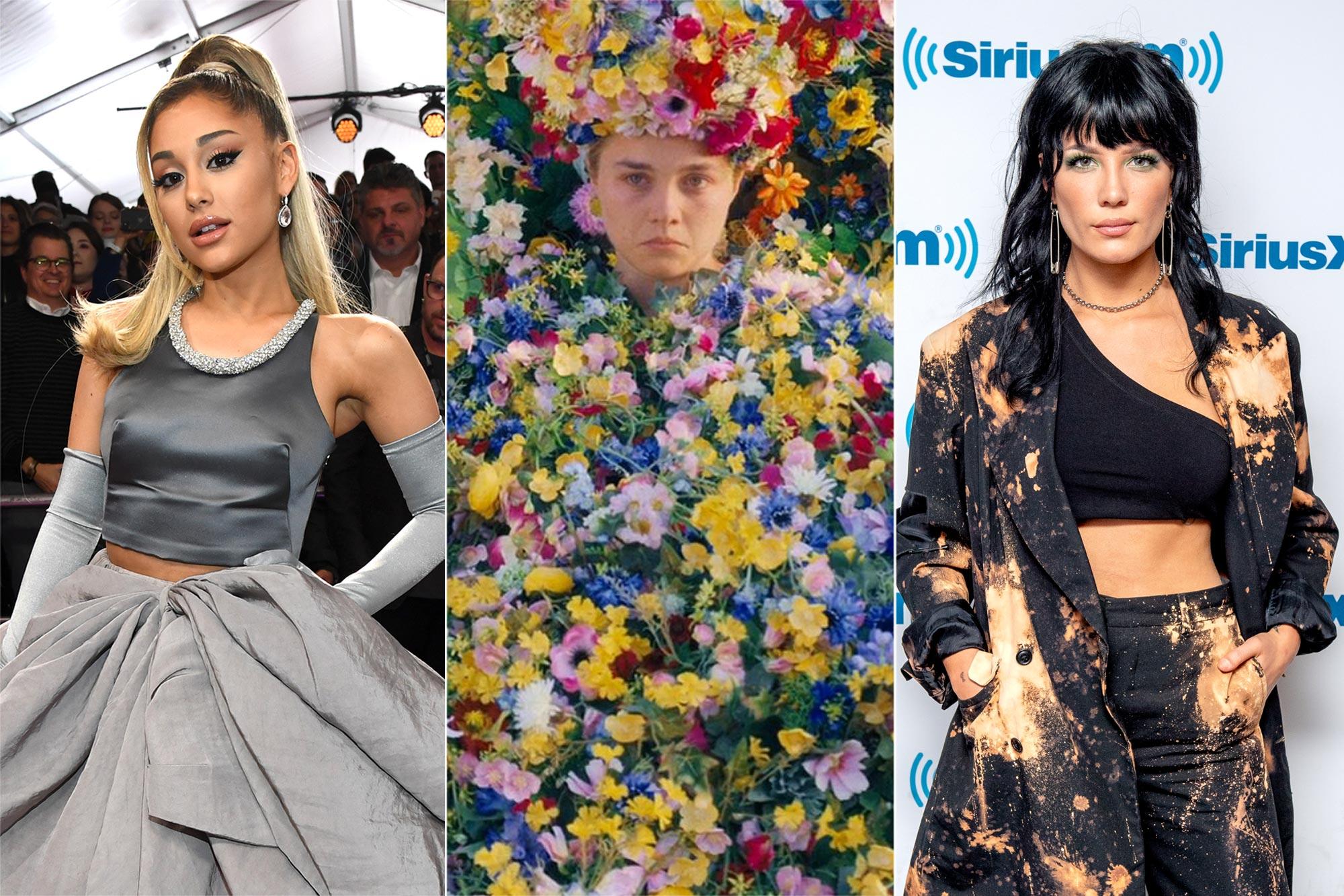 Ariana Grande, Midsommar, Halsey