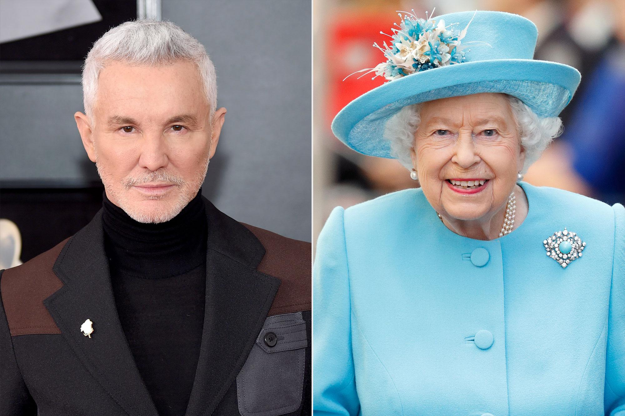Baz Luhrman; Queen Elizabeth II
