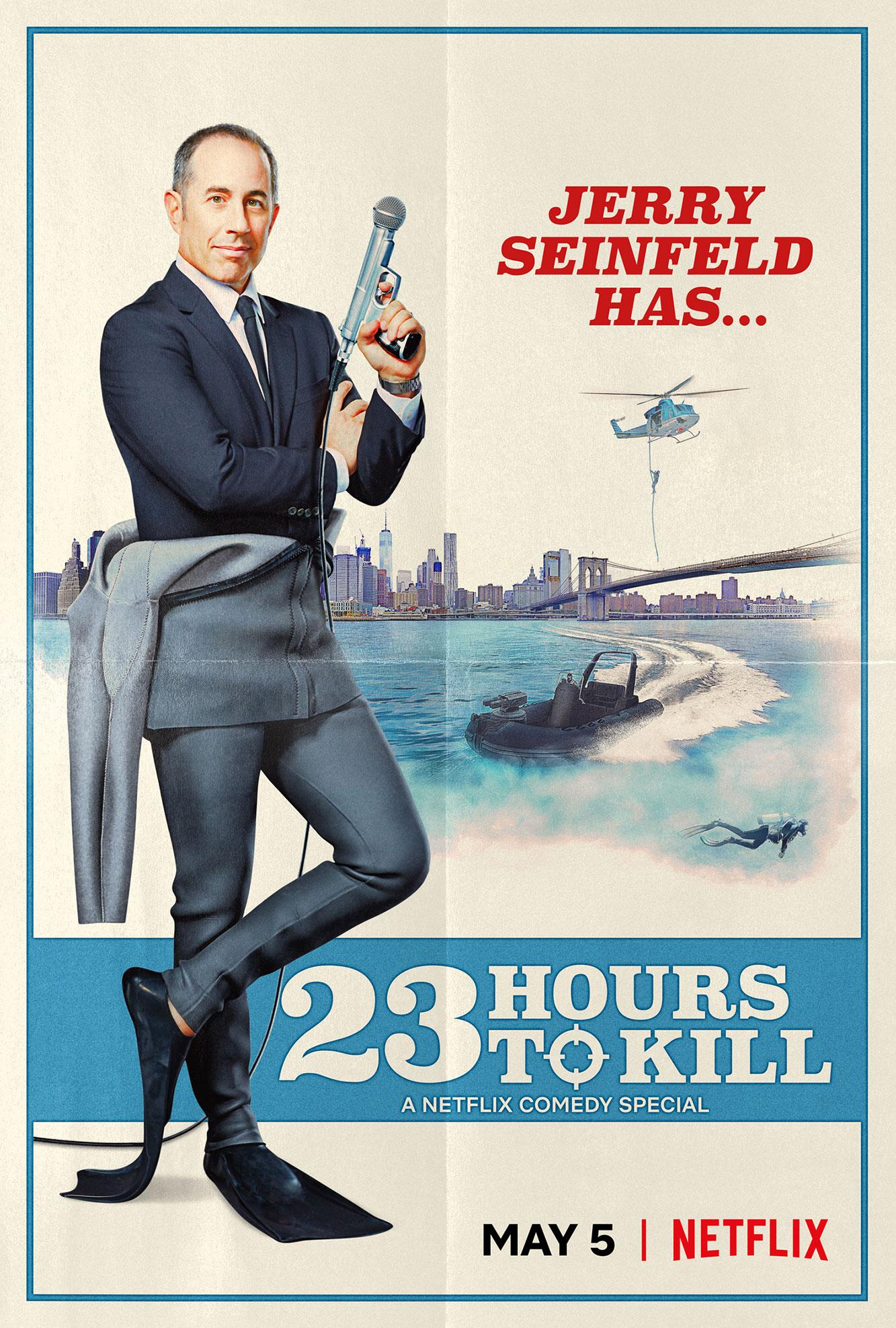 Jerry Seinfeld has 23 Hours to Kill