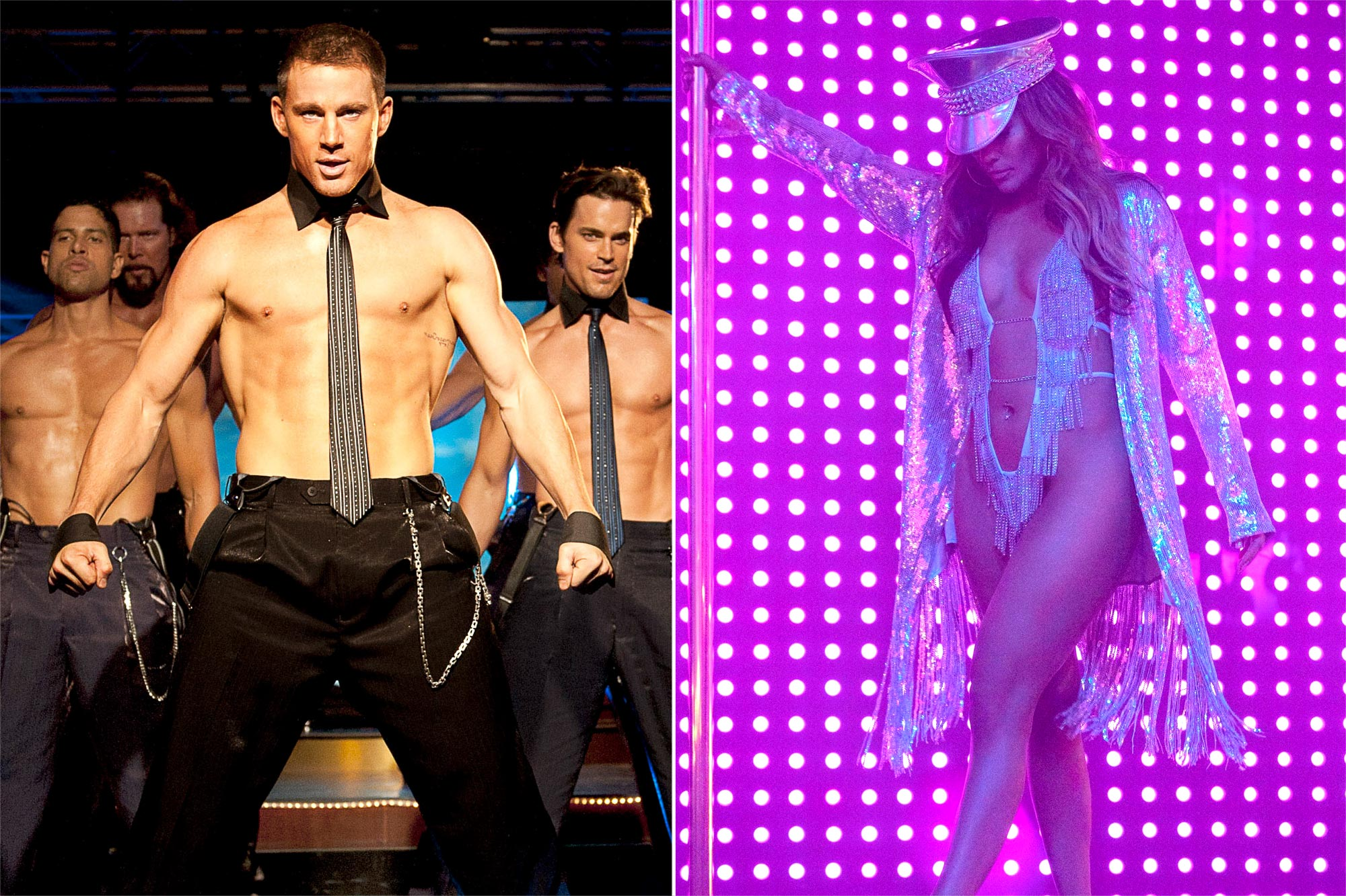 Stars who played strippers