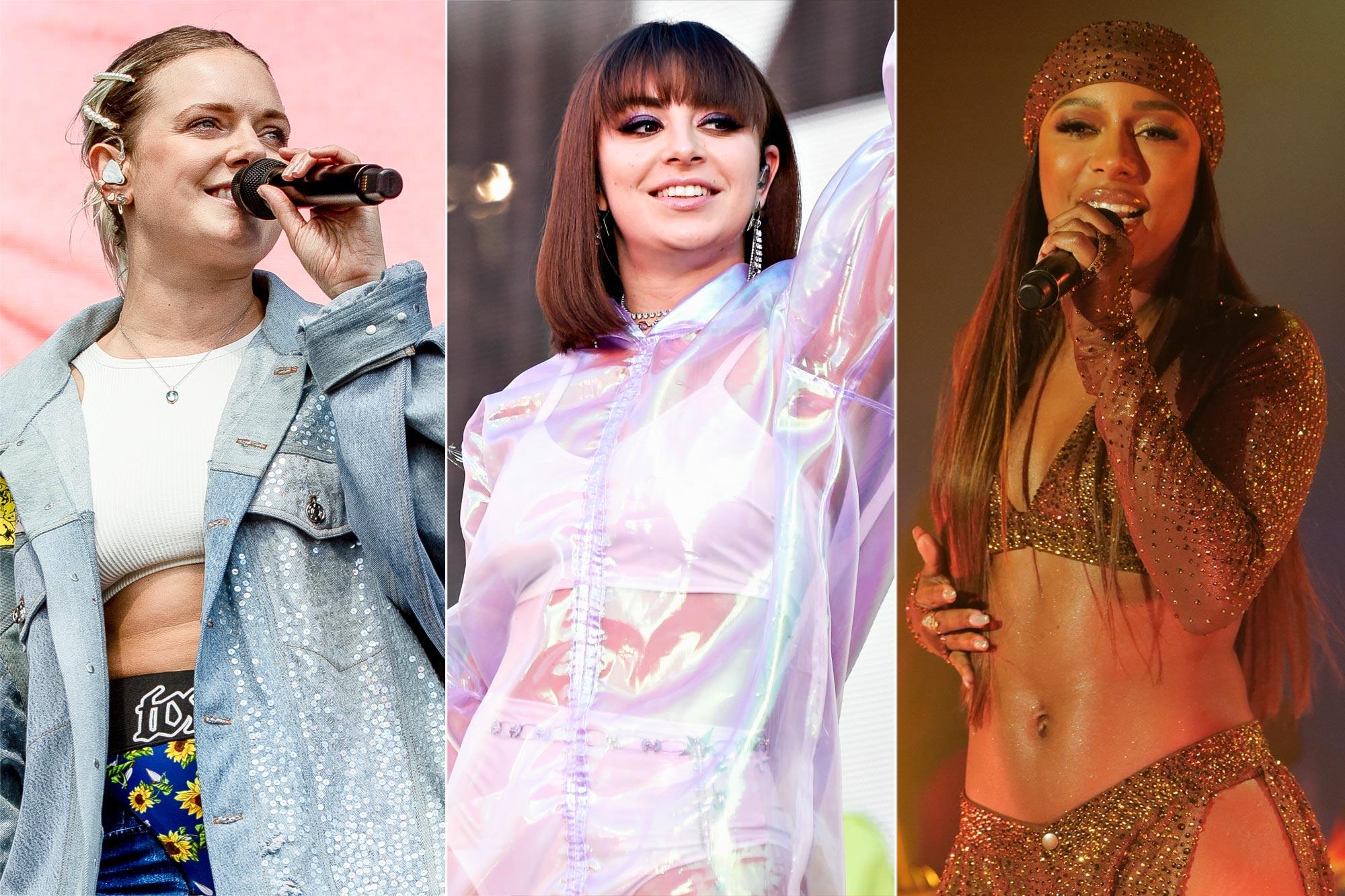 Tove Lo, Charli XCX, and Victoria Monet