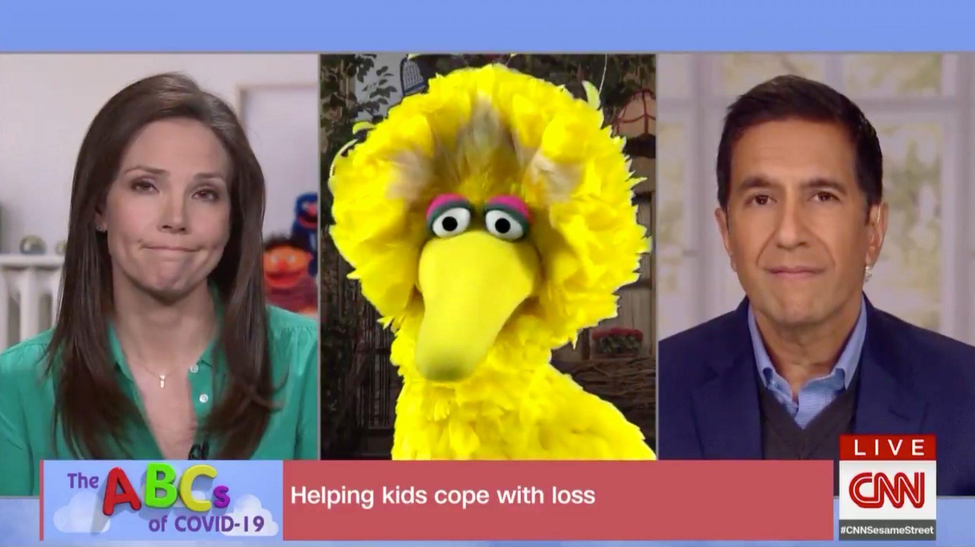 Sesame Street on CNN