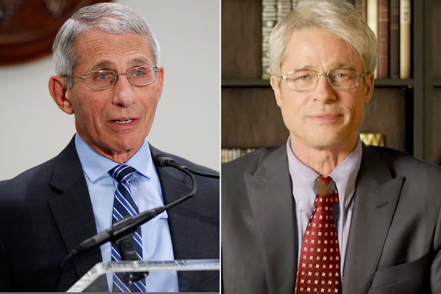 Anthony Fauci says Brad Pitt did a great job playing him on SNL ...