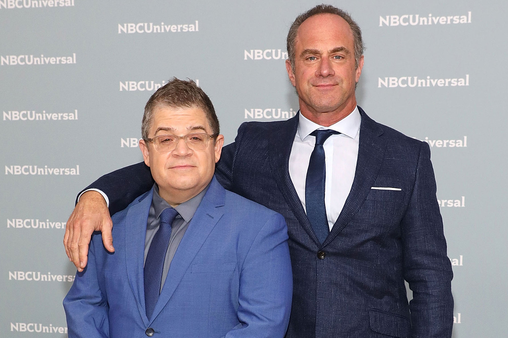 Patton Oswalt and Christopher Meloni