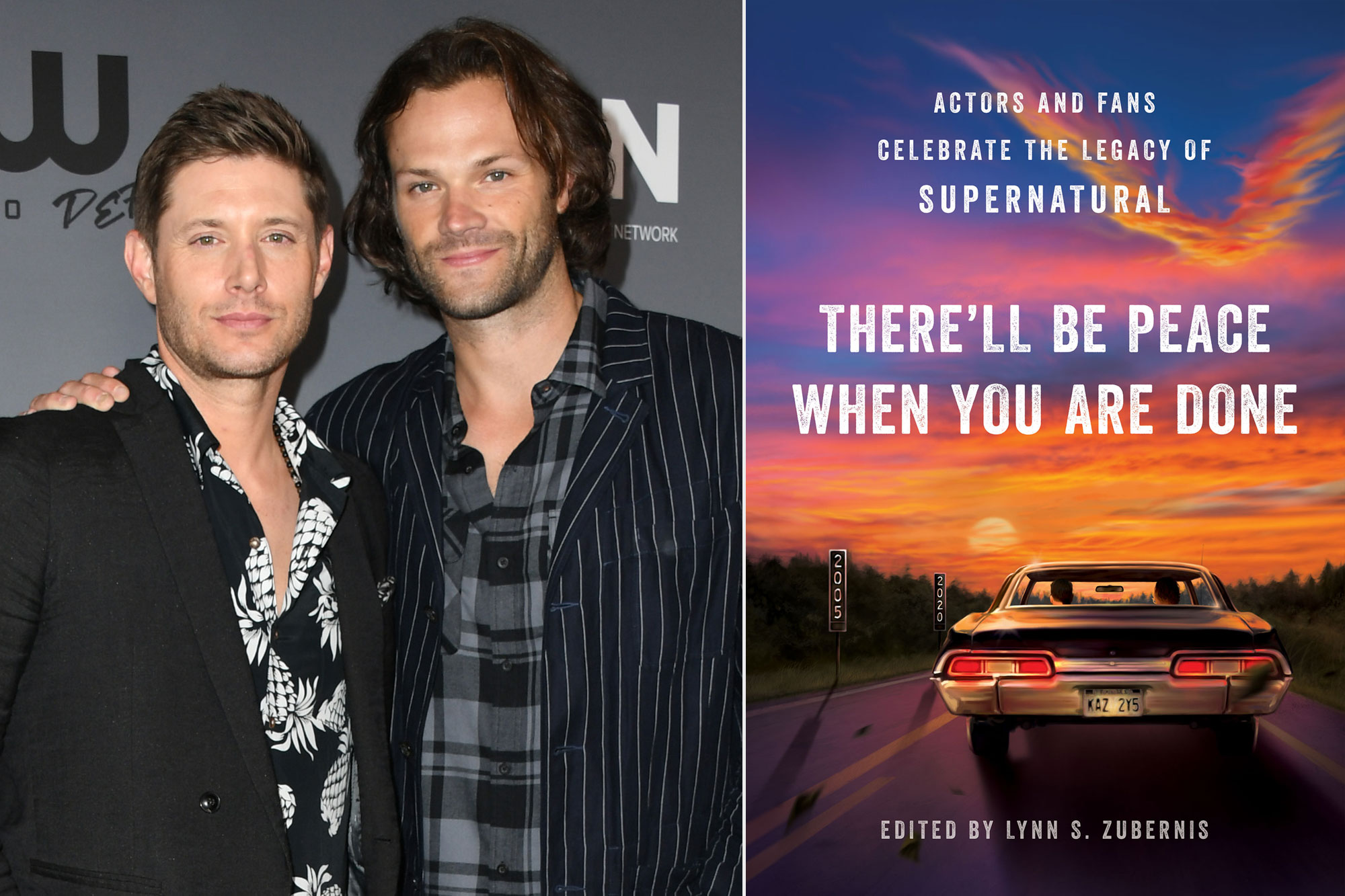 Jensen Ackles and Jared Padalecki; There'll Be Peace When You Are Done: Actors and Fans Celebrate the Legacy of Supernatural