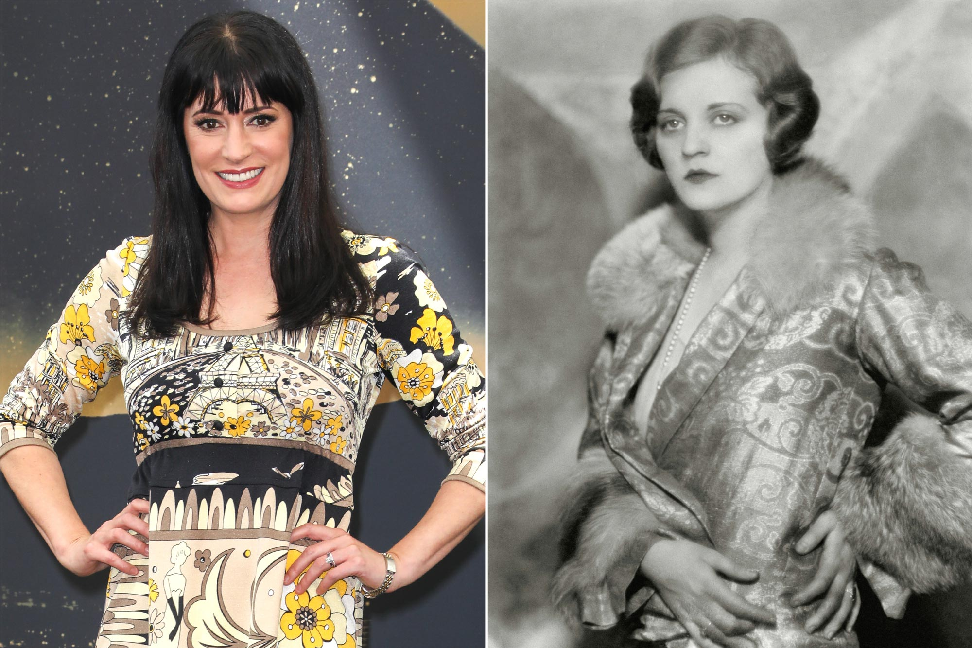 Paget Brewster, Tallulah Bankhead