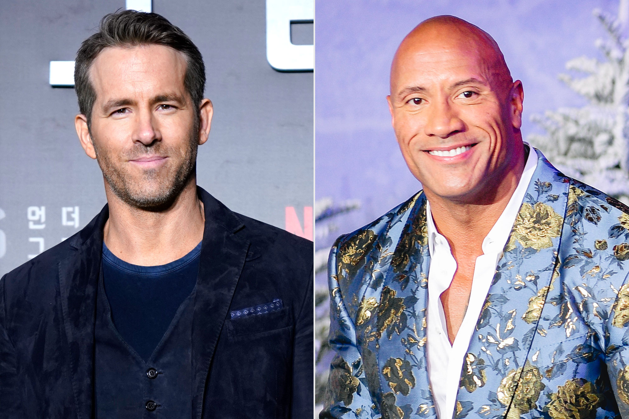 Ryan Reynolds; Dwayne Johnson