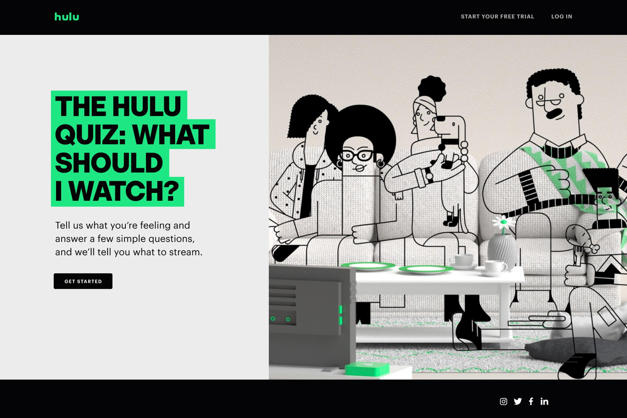 Hulu's new 'What Should I Watch' quiz