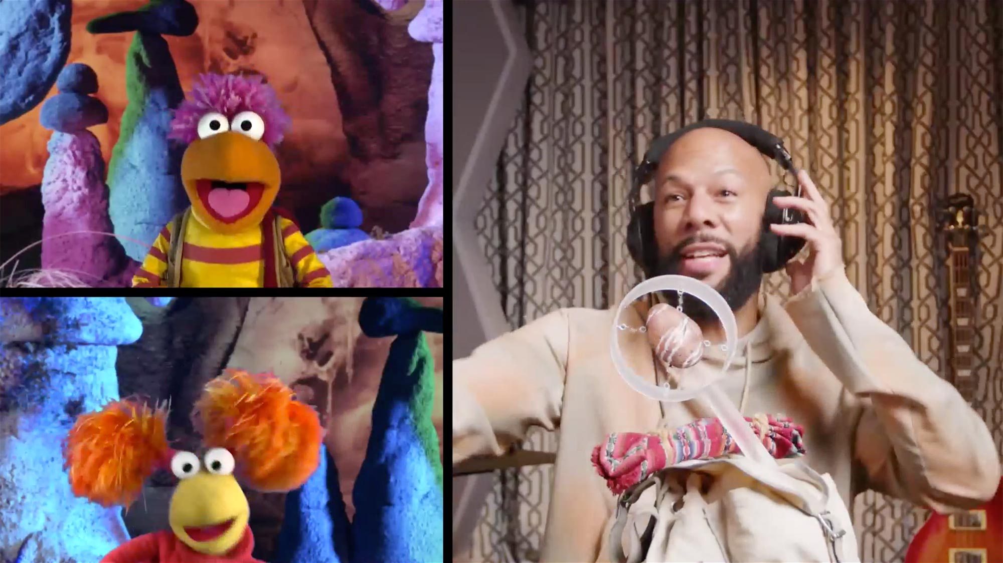 Common and Muppets