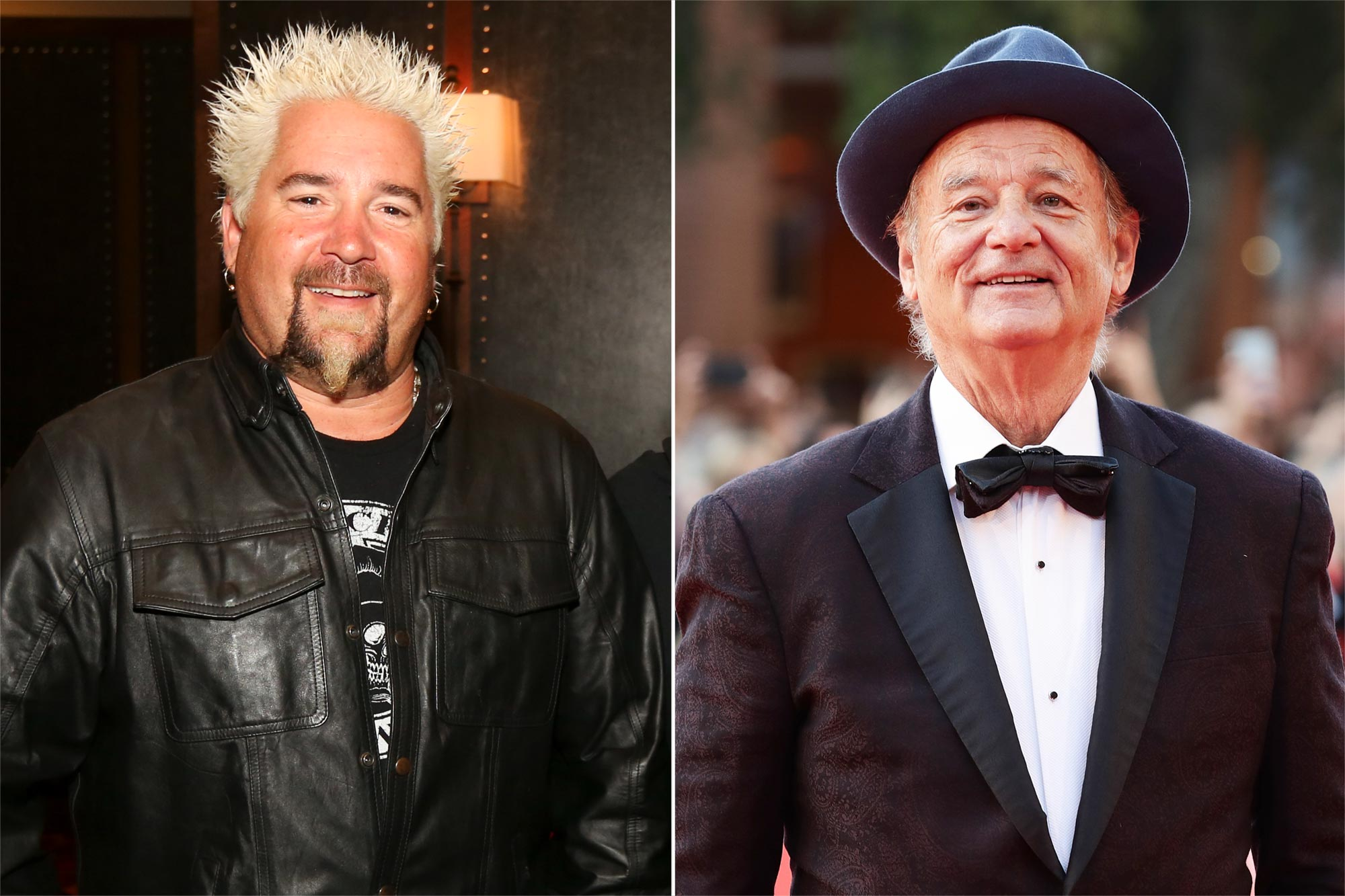 Guy Fieri and Bill Murray