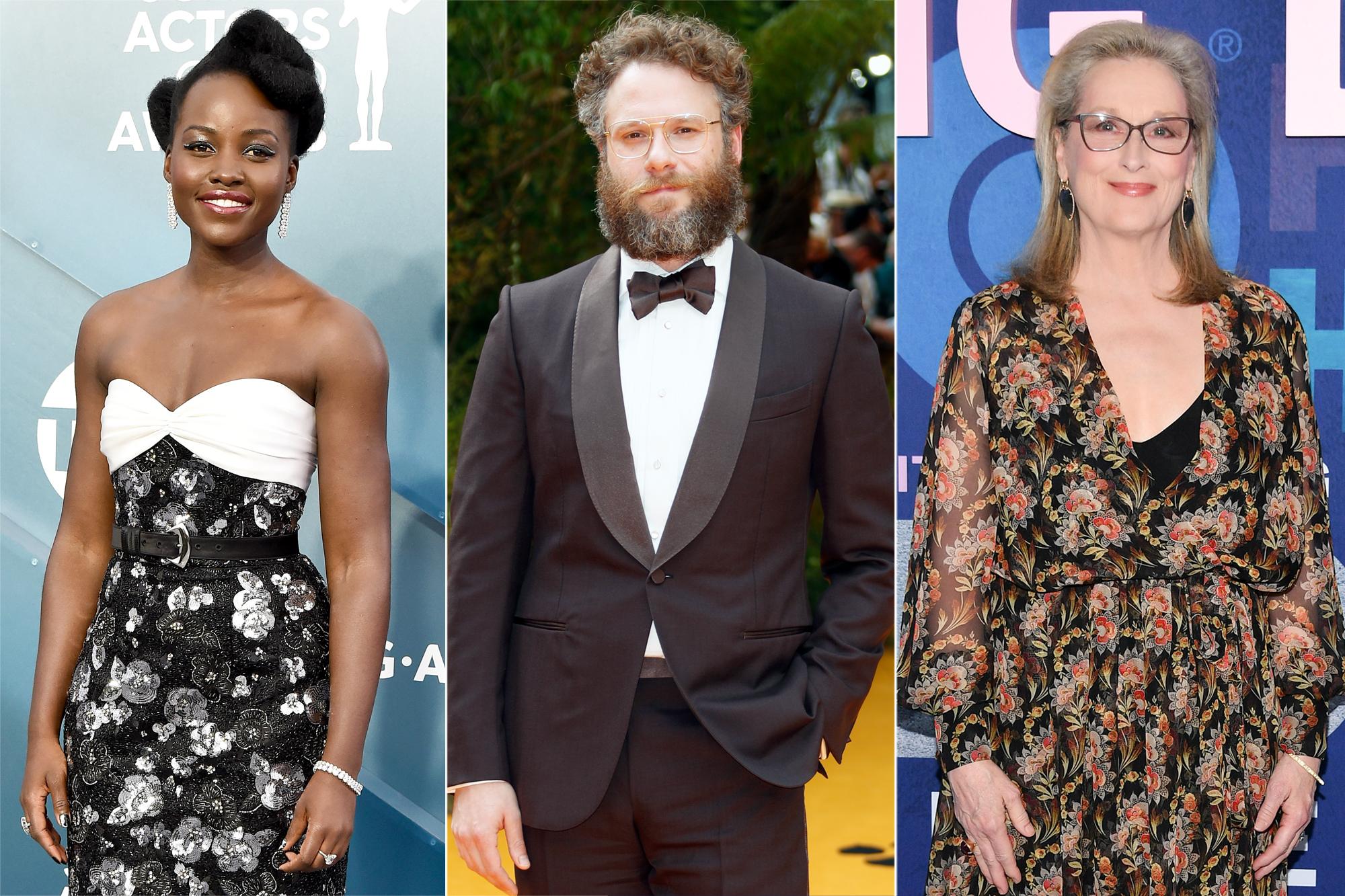 Lupita Nyong'o, Seth Rogen, Meryl Streep
