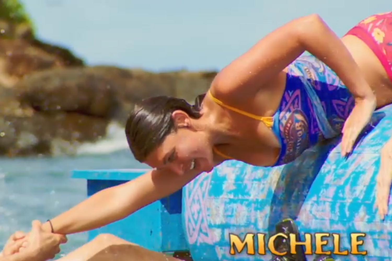 Survivor main titles (screen grab) Michele