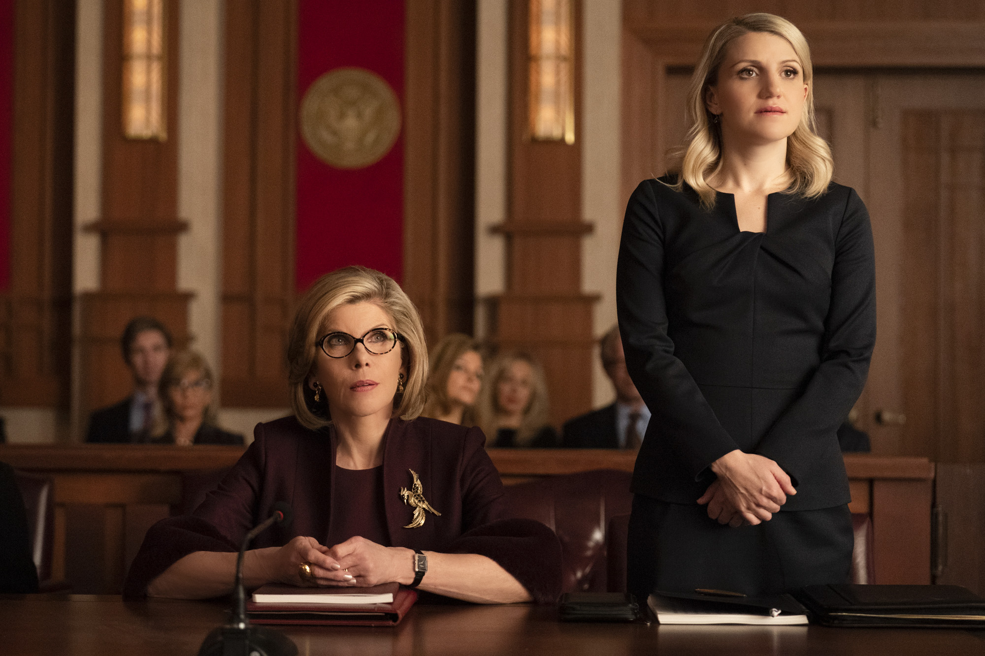 the good fight 4 x 05 the gang goes to war recensione