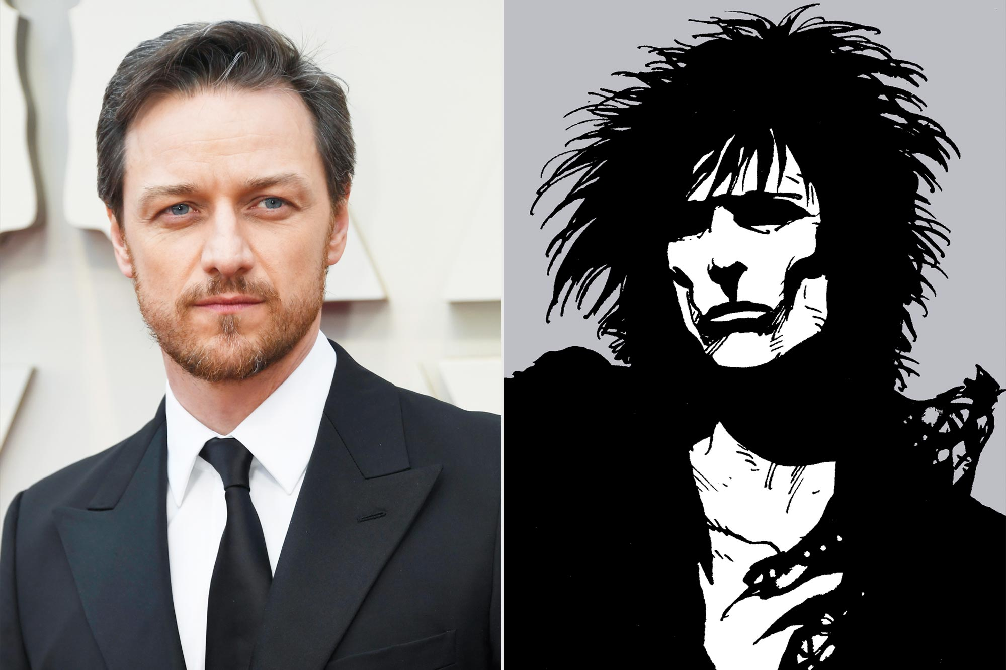 James McAvoy; Sandman - Dream/Morpheus