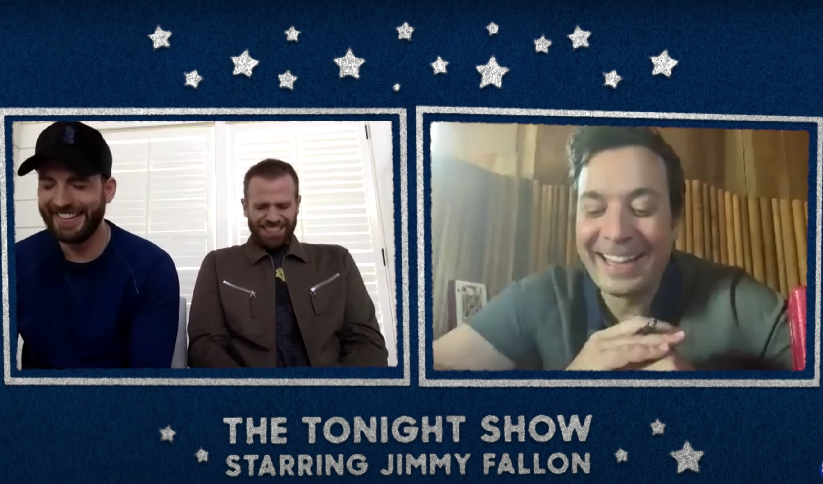 chris evans scott evans jimmy fallon the tonight show
