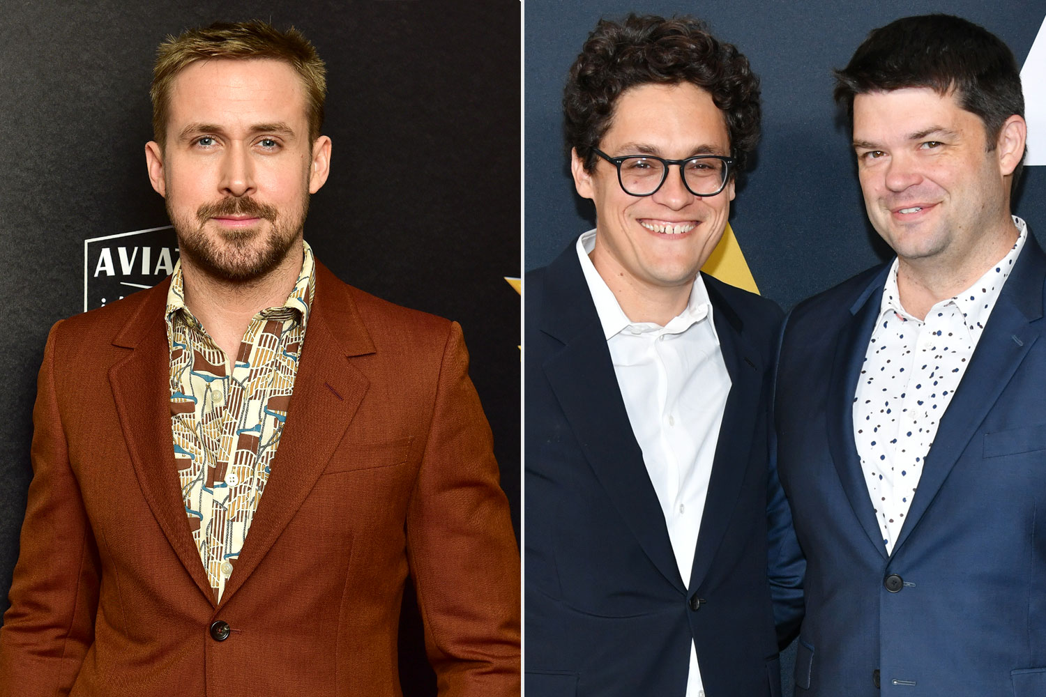 Ryan Gosling, Phil Lord and Chris Miller