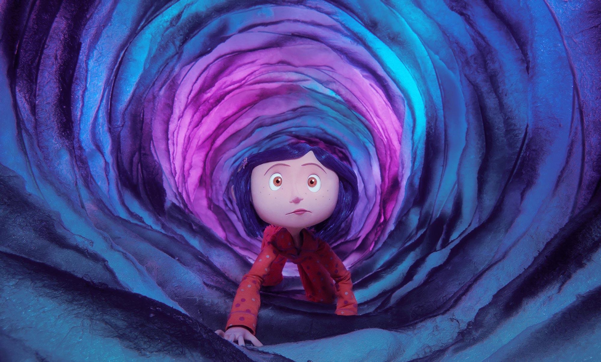 Coraline S Neil Gaiman Teri Hatcher Look Back On The Otherworldly Children S Classic Ew Com