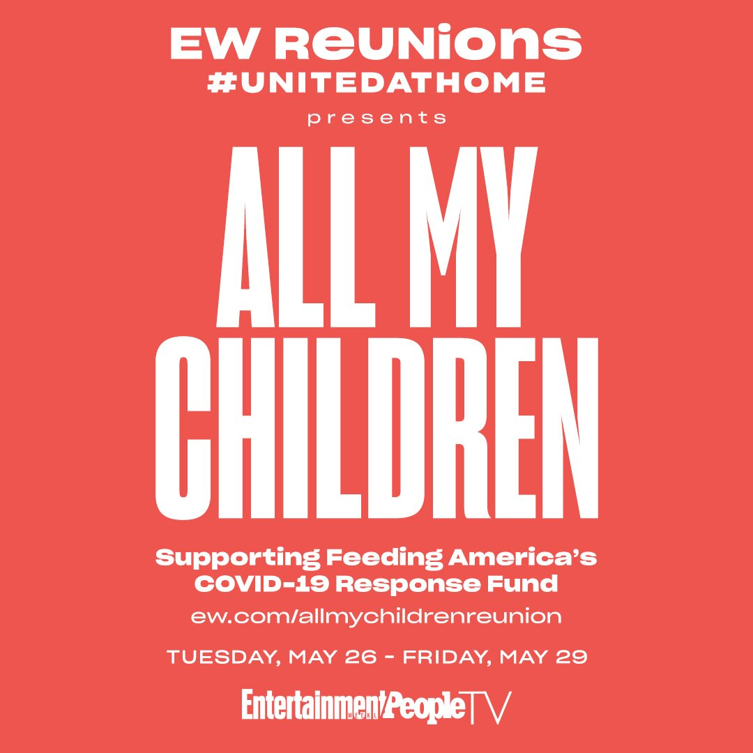 all my children ew reunions