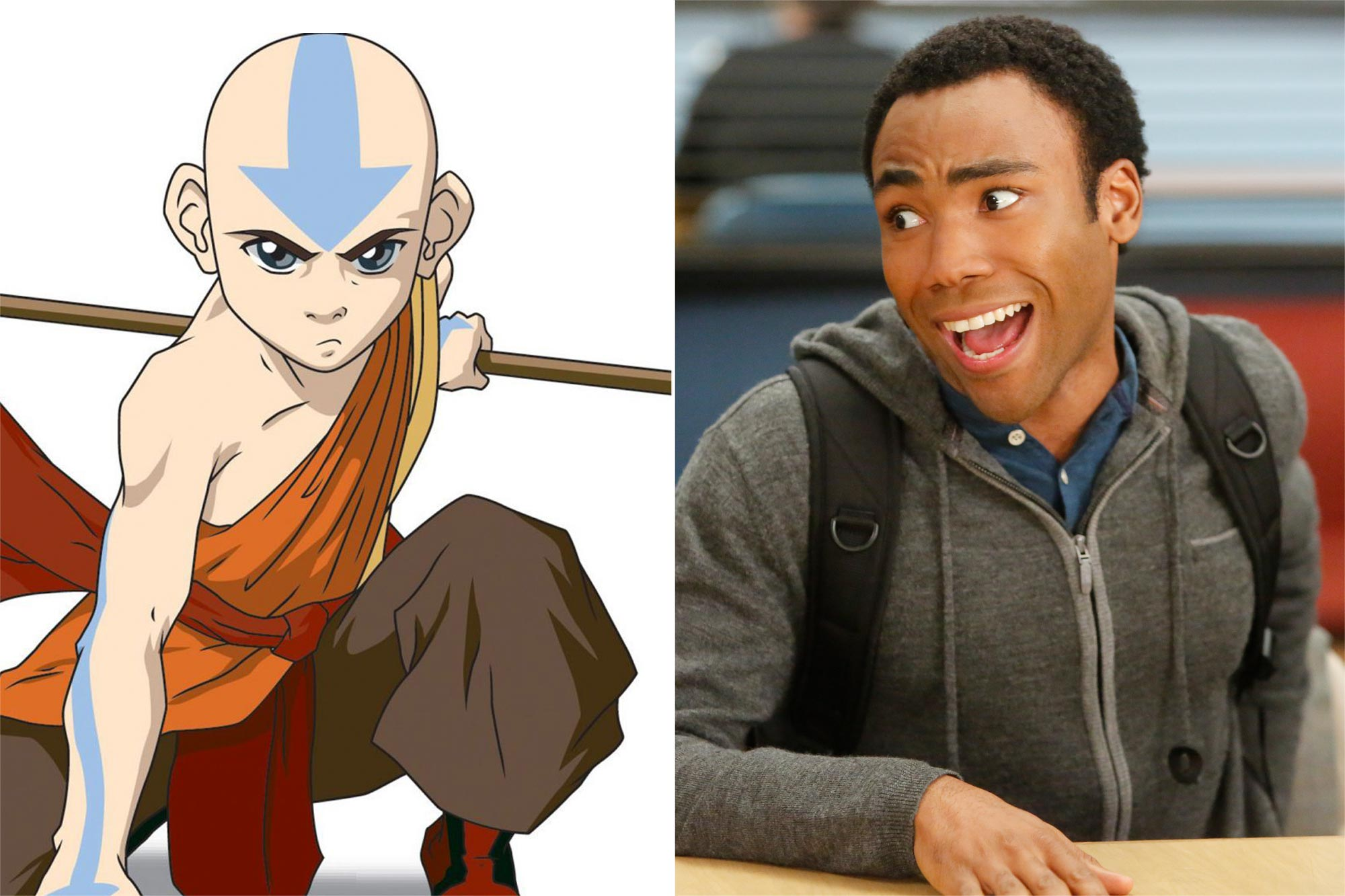 Avatar: The Last Airbender and Donald Glover on Community