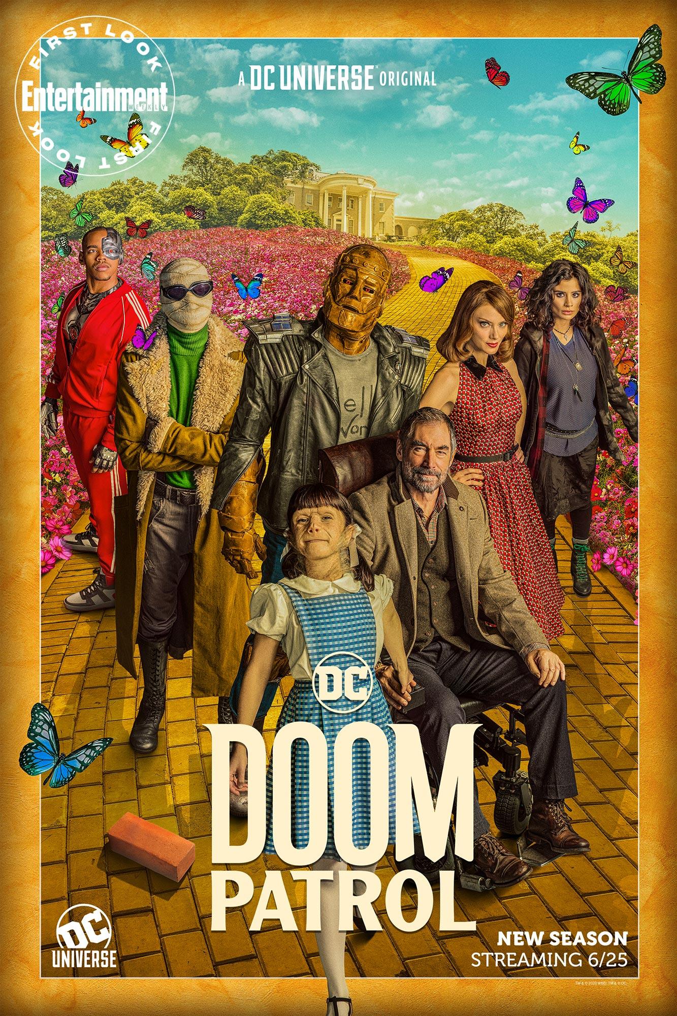 Doom Patrol Season 2 Photos Dorothy Spinner Arrives Mark Sheppard Returns Ew Com