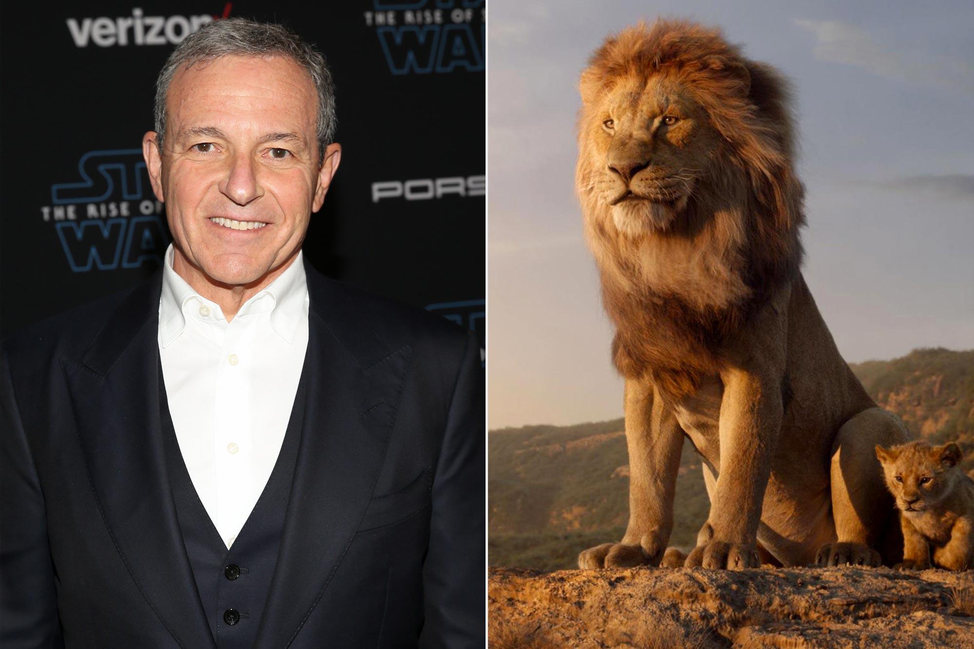 Bob Iger; The Lion King