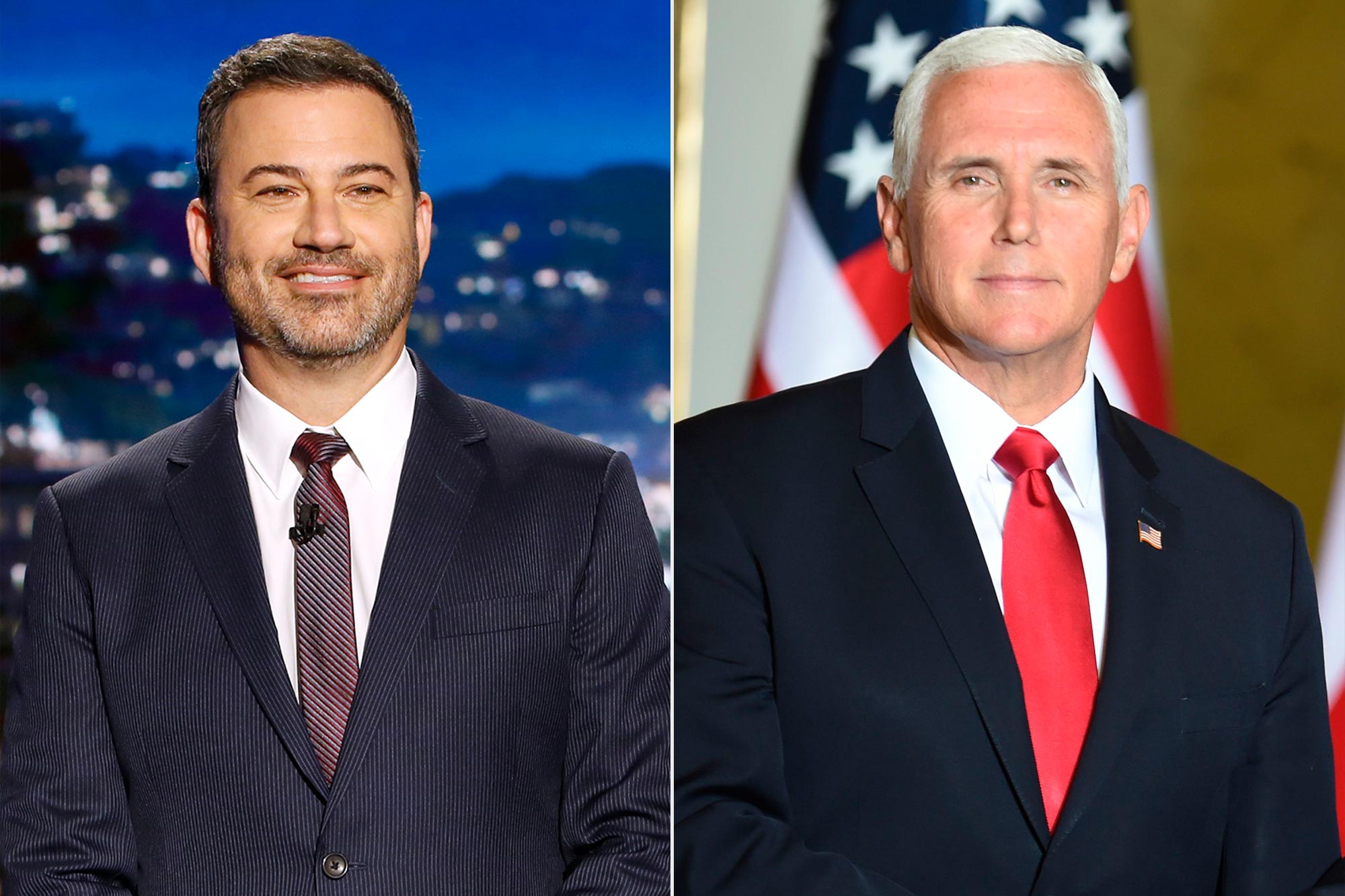 Jimmy Kimmel; Mike Pence