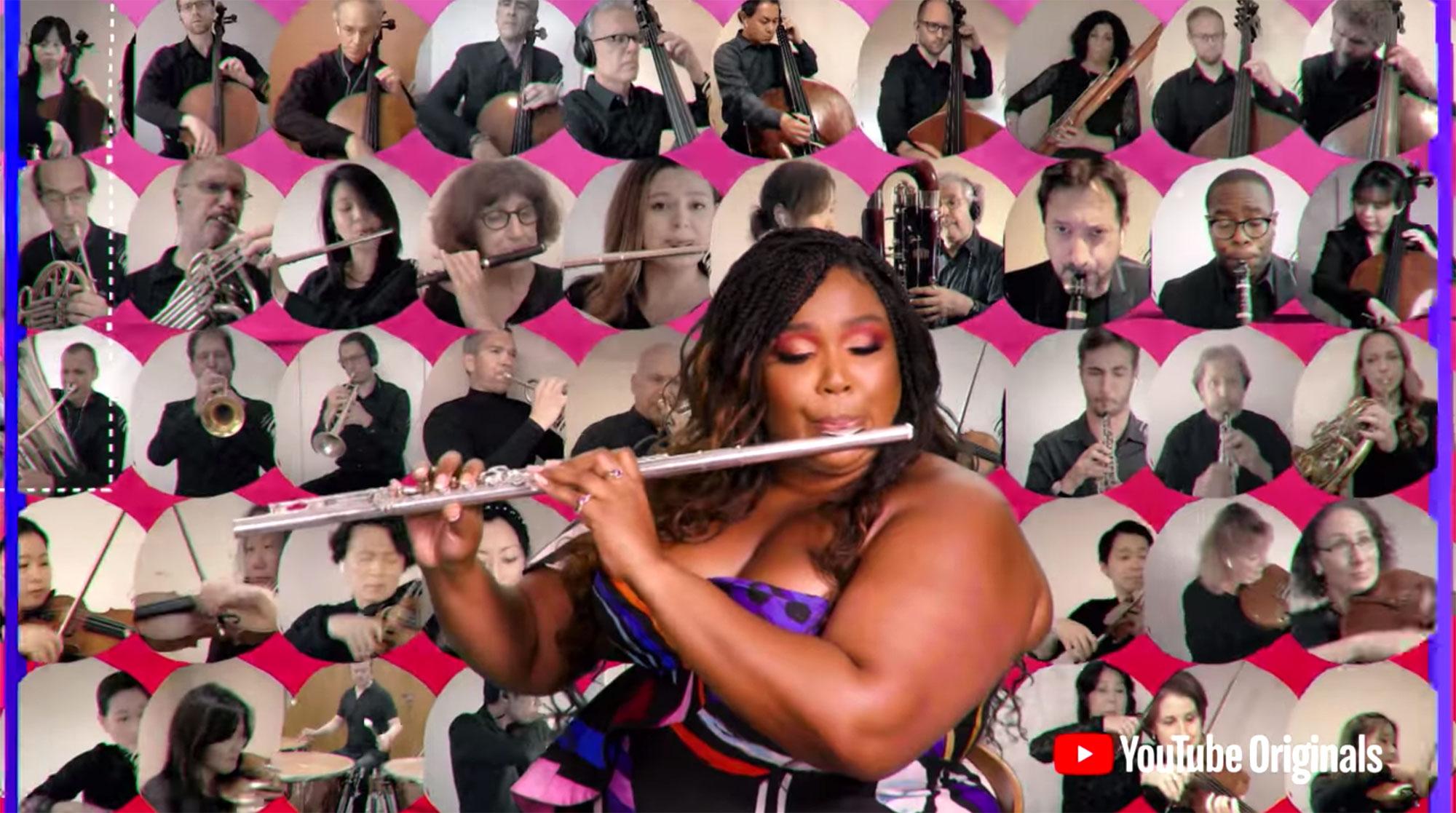 Lizzo ft. The NY Philharmonic   Dear Class Of 2020