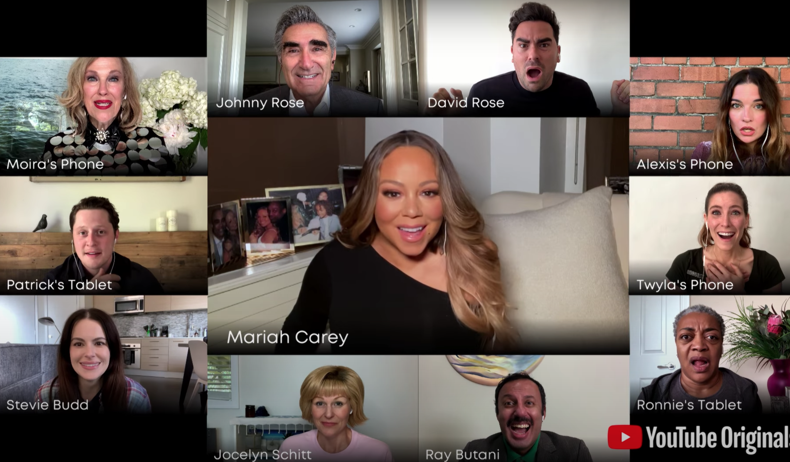 schitts creek mariah carey dan levy commencement 2020