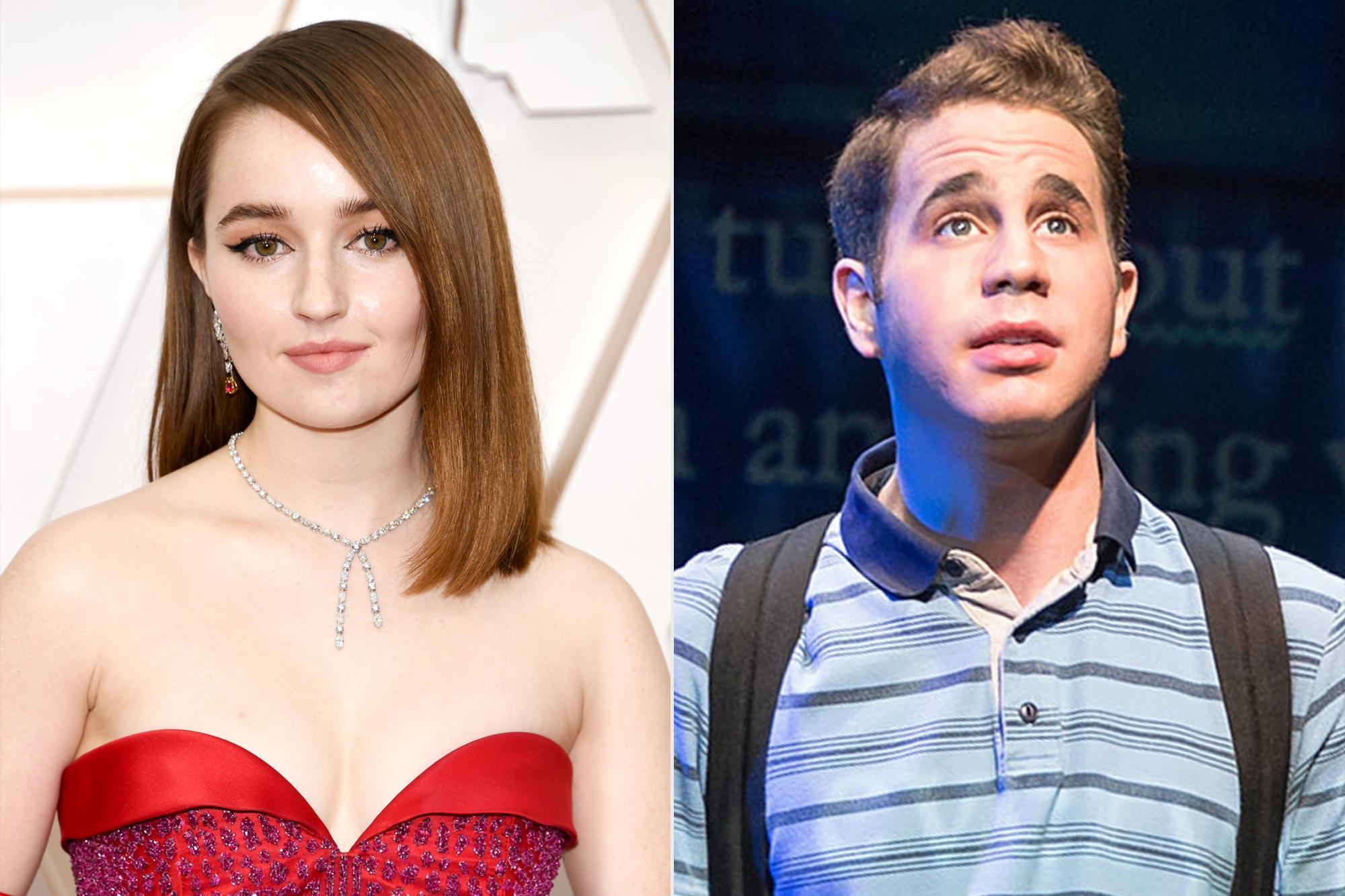 Kaitlyn Dever and Ben Platt in Dear Evan Hansen