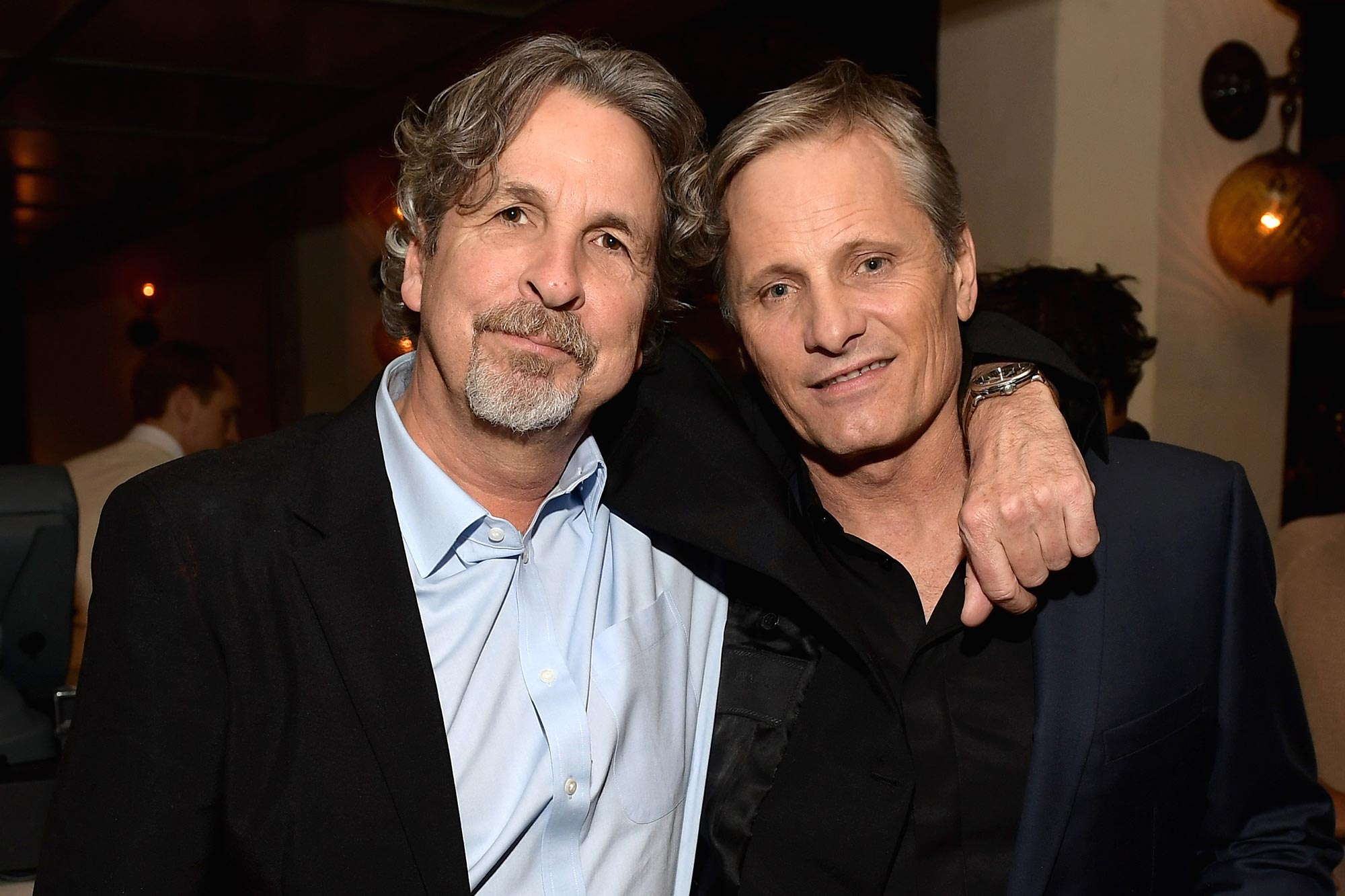 Peter Farrelly and Viggo Mortensen