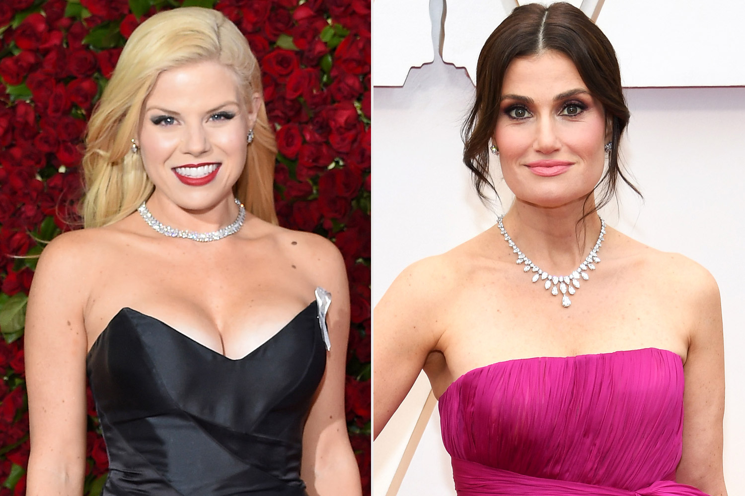 Megan Hilty and Idina Menzel