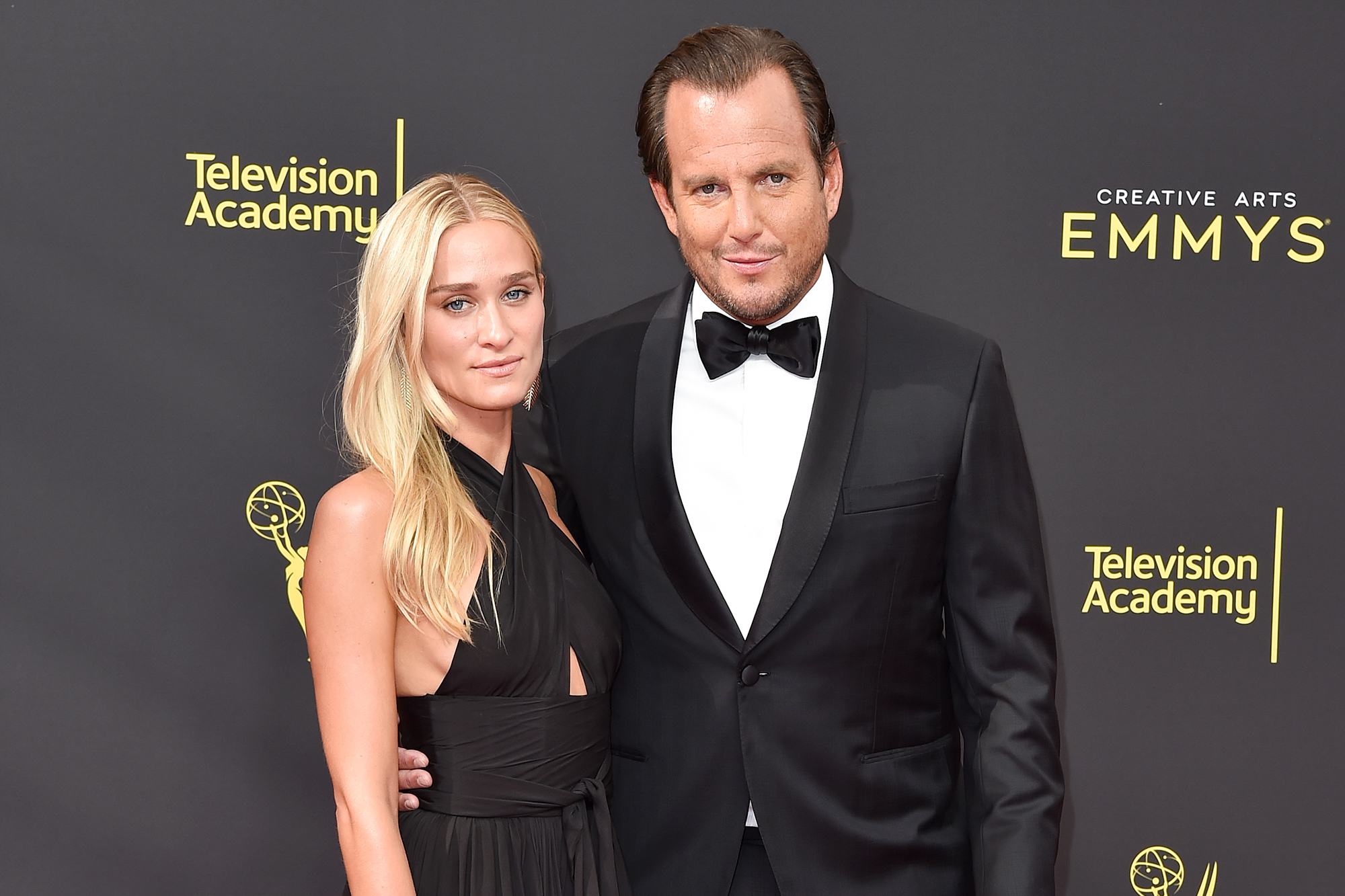 Alessandra Brawn and Will Arnett