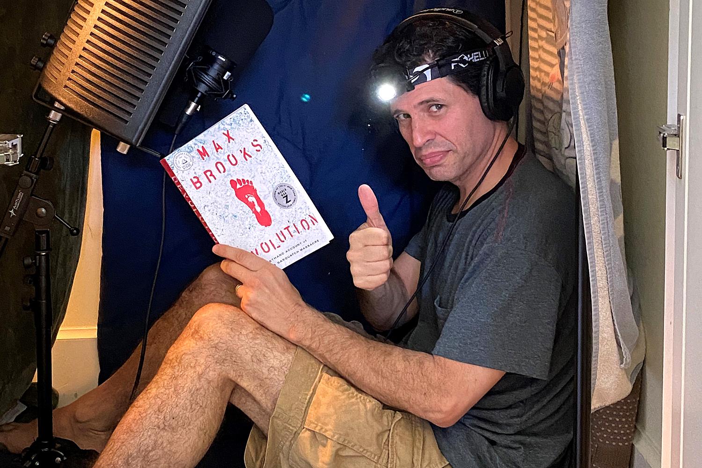 Max Brooks's Bigfoot horror novel 'Devolution'