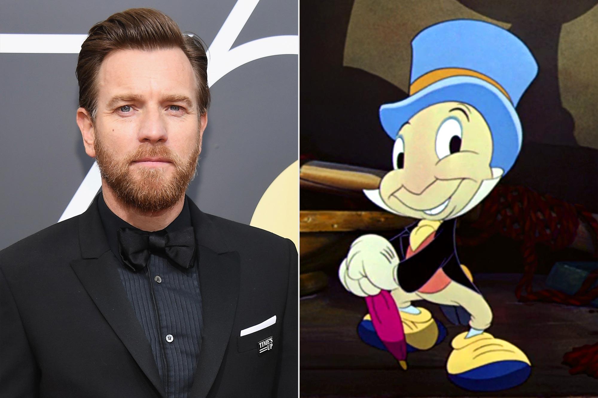 Ewan McGregor; Jiminy Cricket