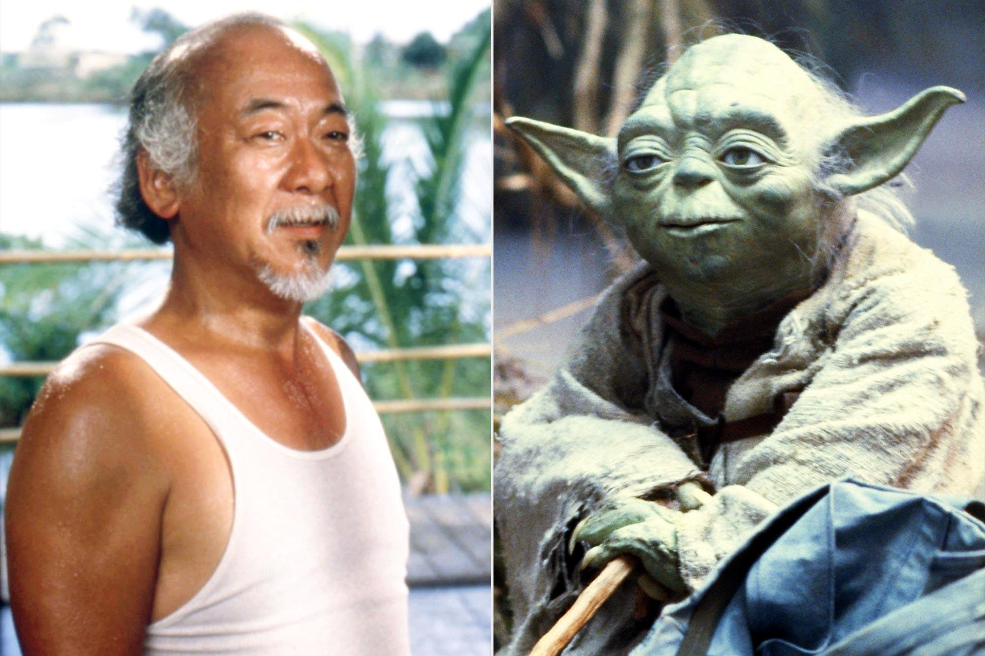 THE KARATE KID; Empire Strikes Back Yoda