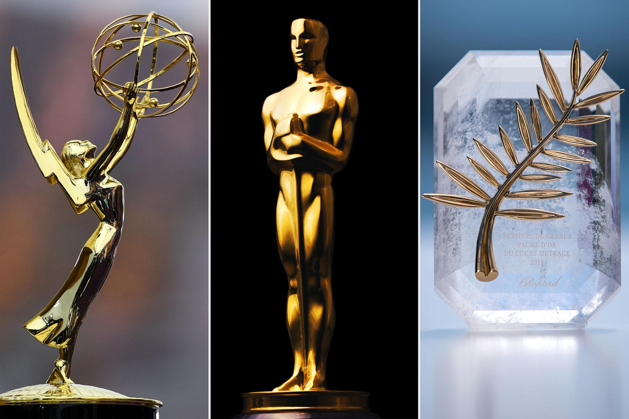 Emmy Awards; Academy Awards; Palme d'Or