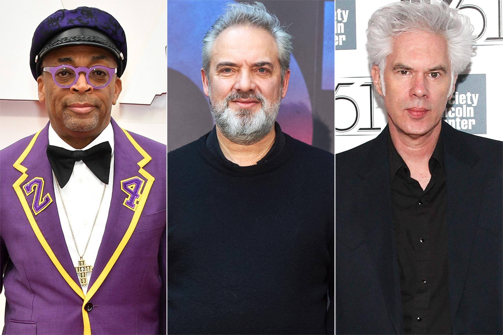 Spike Lee, Sam Mendes, Jim Jarmusch