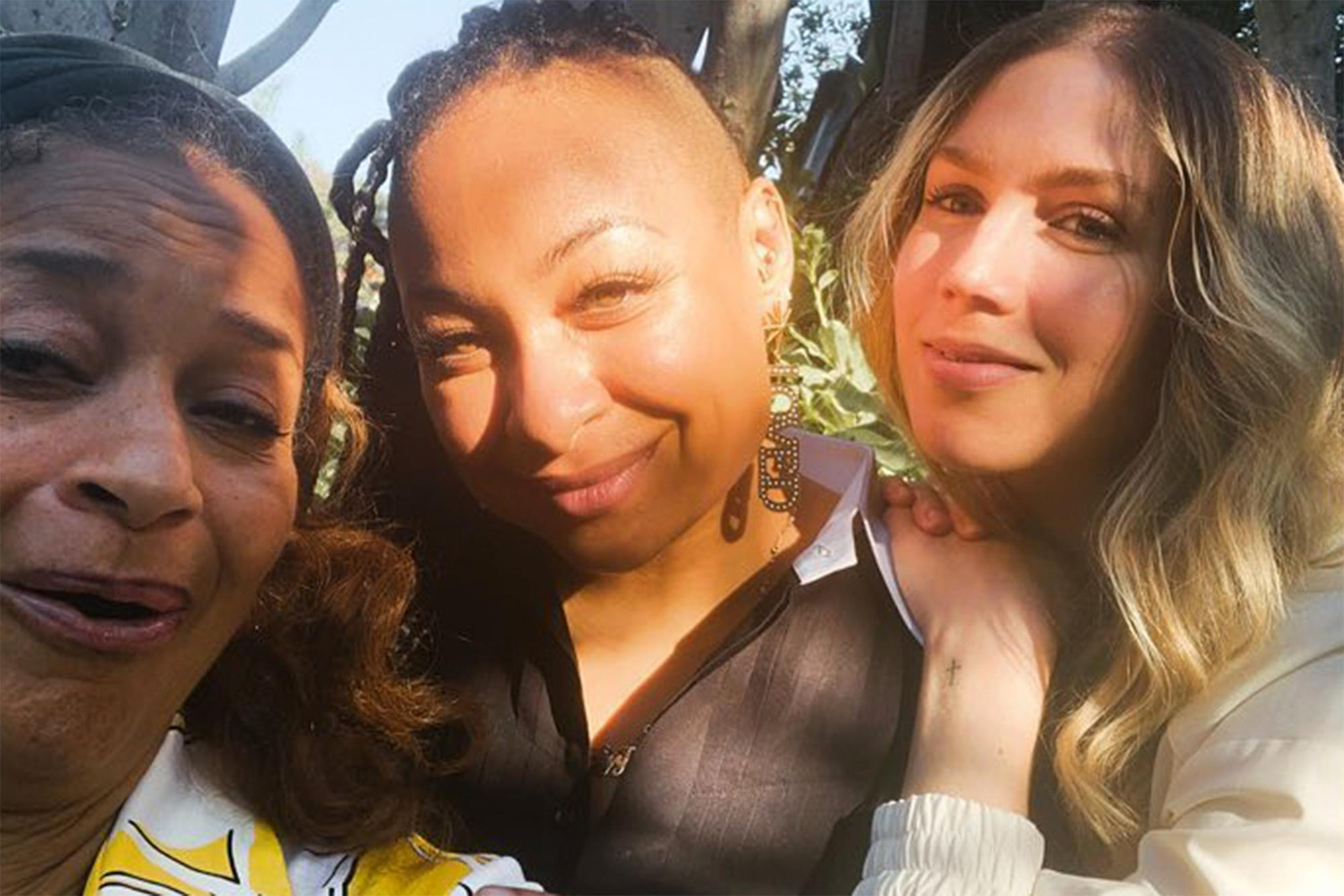 Debbie Allen, Raven Symone and Miranda Maday