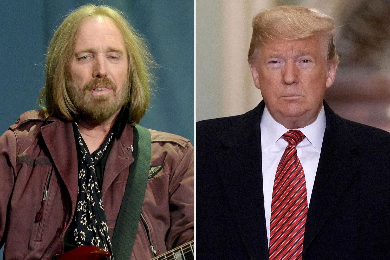 Tom Petty, Donald Trump